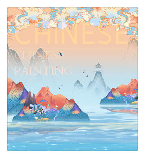 Chinese Painting of China culture when study in China