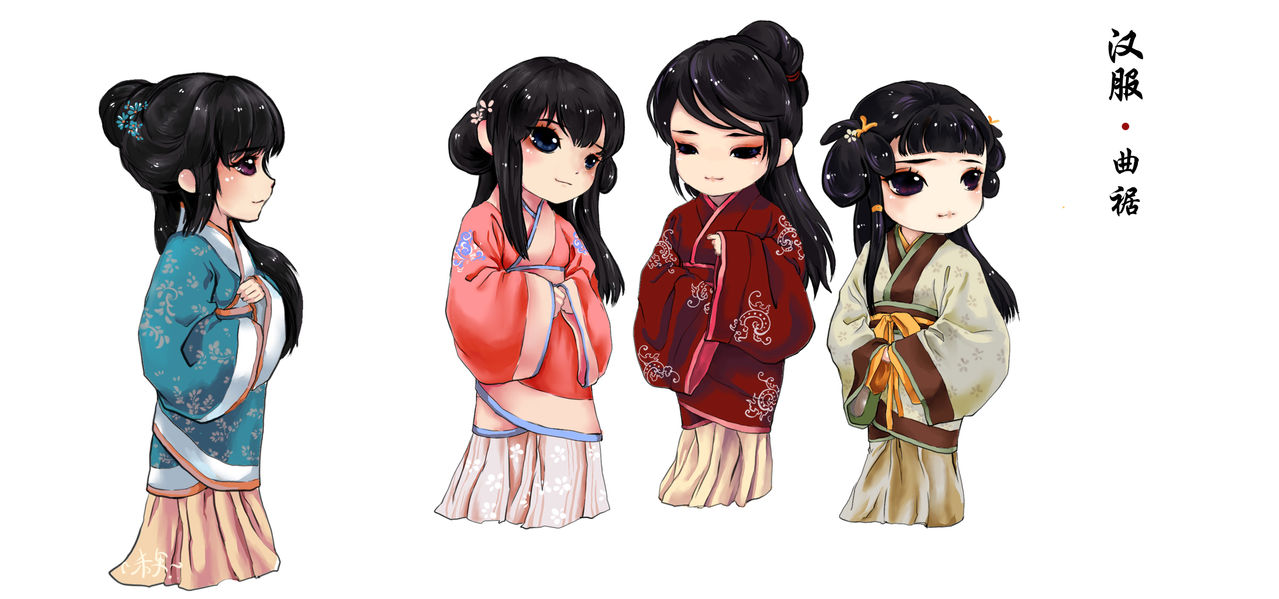 Han nationality traditional clothes