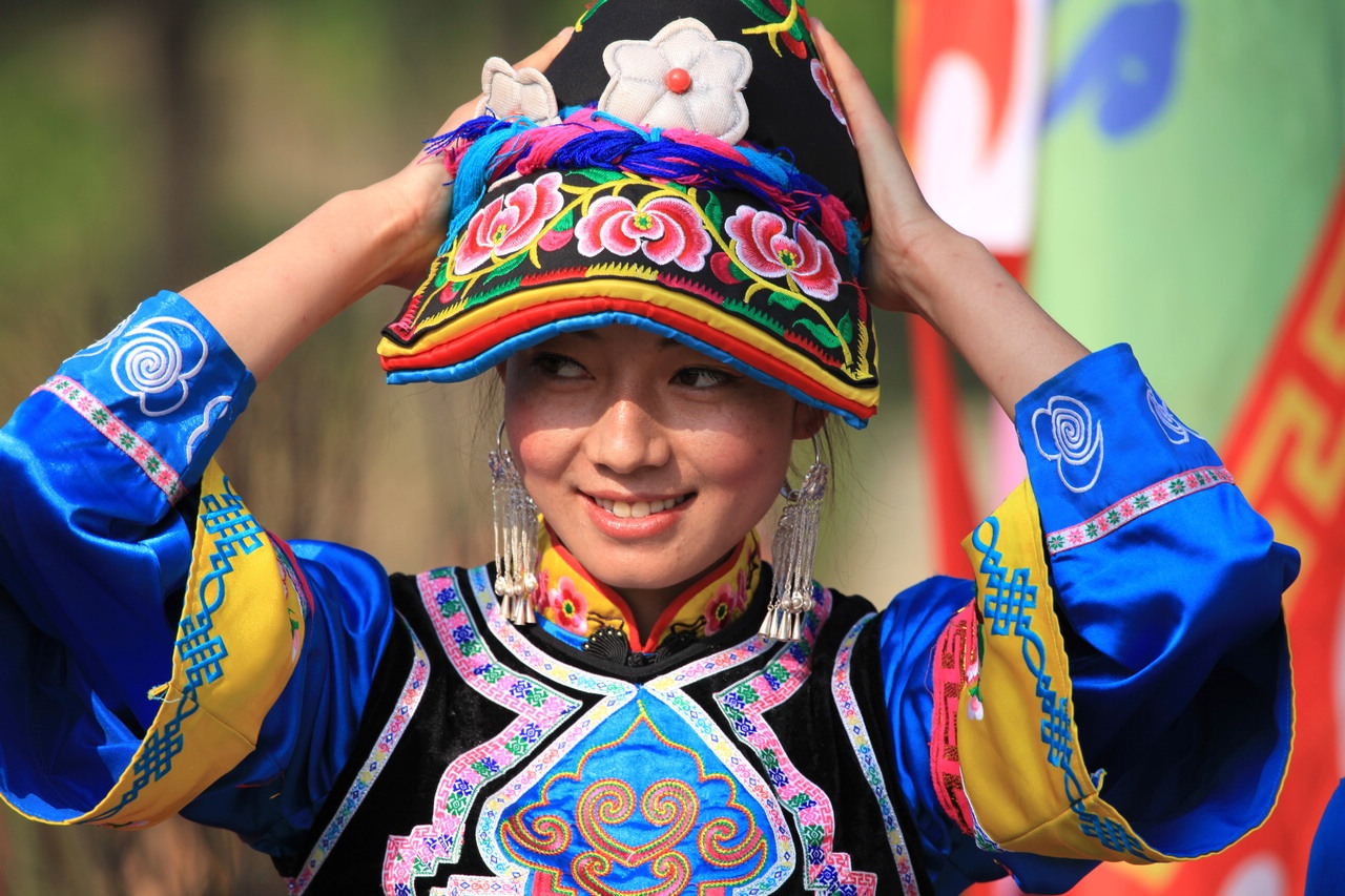 qiang nationality clothes