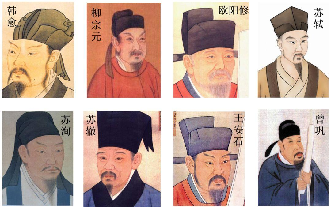 Eight Great Masters of Tang and Song Dynasty