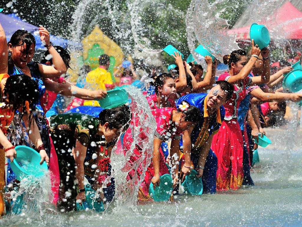 Dai nationality the Water-Sprinkling Festival