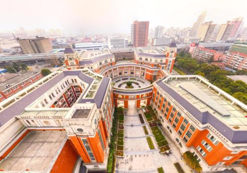 University-of-Shanghai-For-Science-And-Technology-overlooking-view
