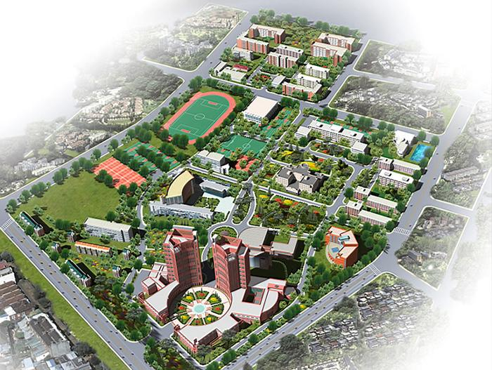 Aerial-photography-of-Tianjin-University-of-science-and-technology