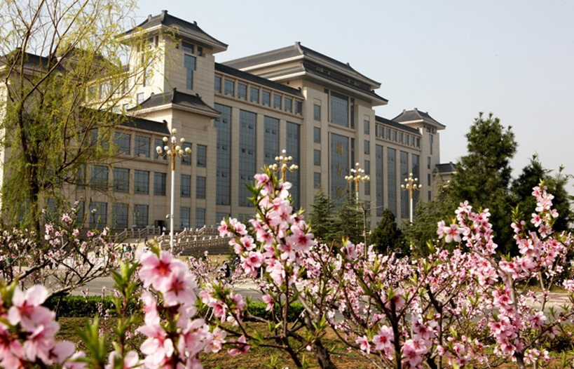 Side-shot-of-Shaanxi-Normal-University-Library