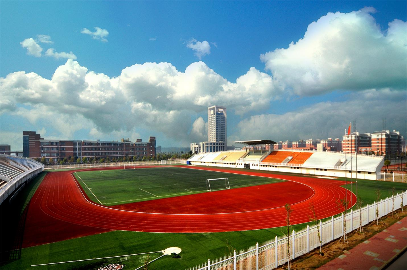 Track-and-field-of-Nanchang-Aviation-University