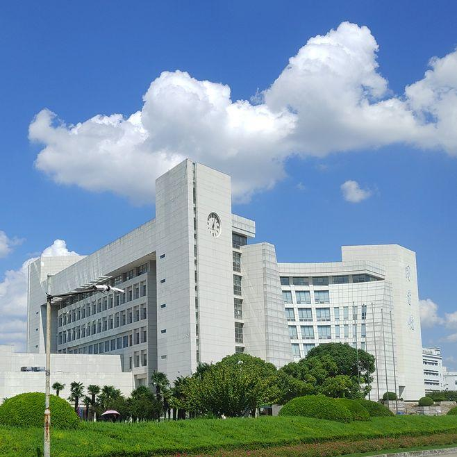 Sideview-of-Shanghai-University-Library