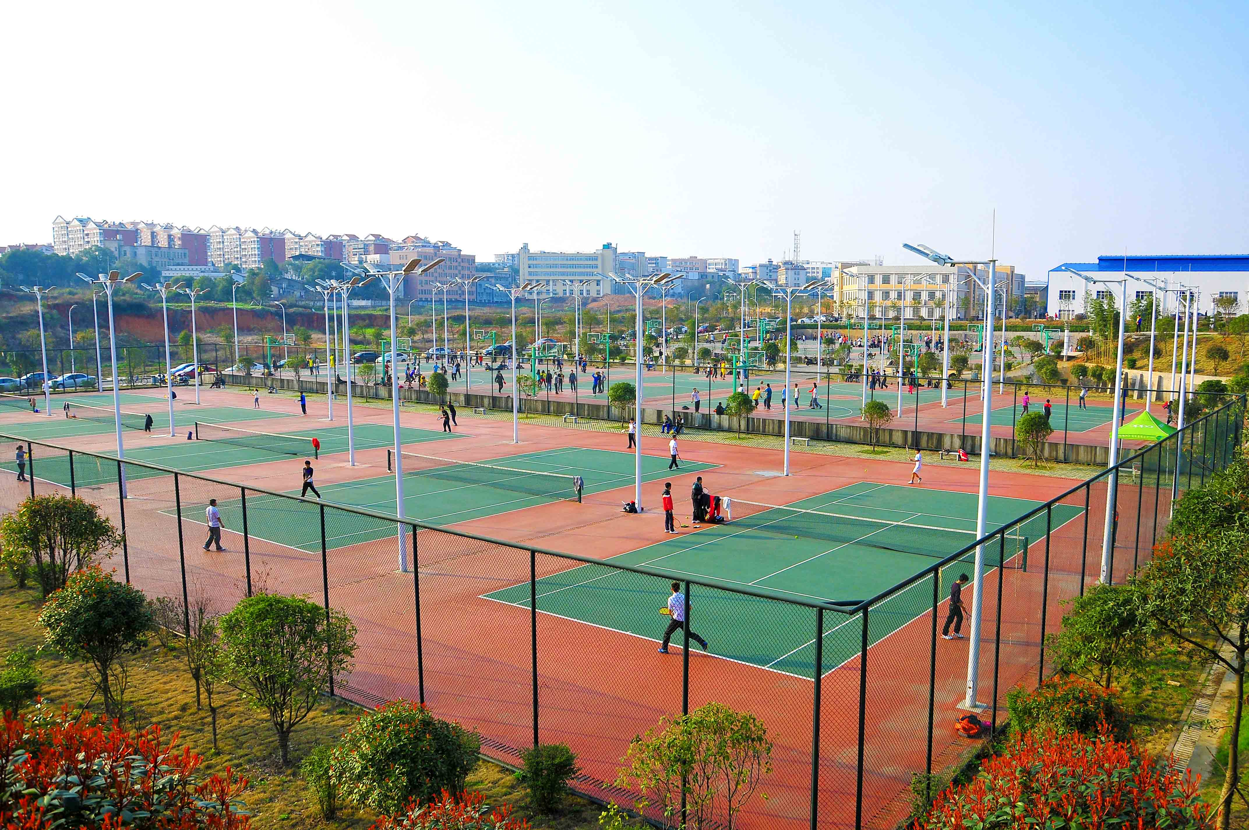 Hunan-University-of-Science-and-Technology-track-and-field-ground