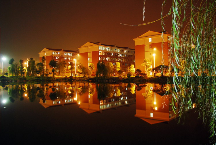 Changsha-University-of-Science-and-Technology-nocturne