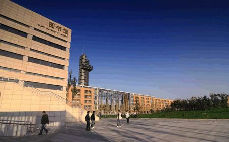 Side-view-of-Library-of-Xidian-University