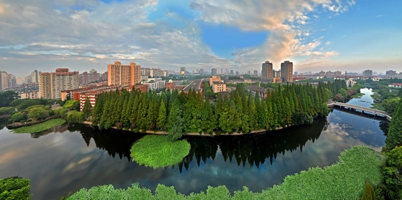 East-China-Normal-University-green-trees
