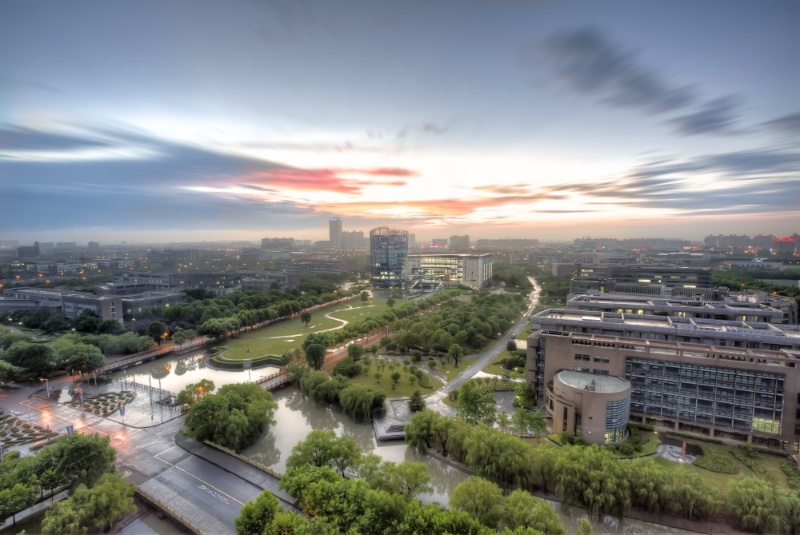 Aerial-photography-of-East-China-Normal-University
