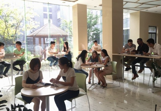 English-corner-of-East-China-University-of-science-and-technology
