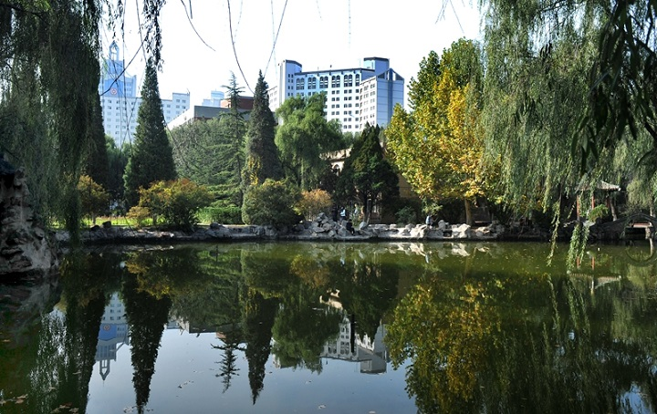 andscape-architecture-of -Lanzhou-University