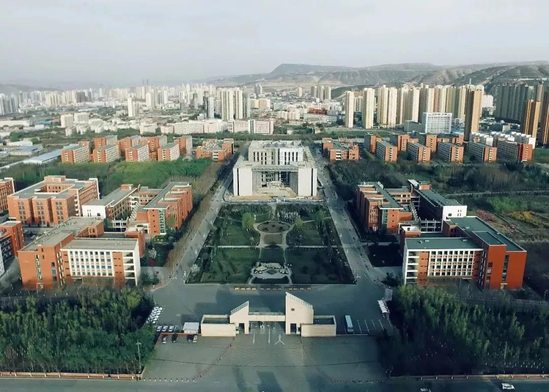 Aerial-photography-of-Lanzhou-University-of-Technology