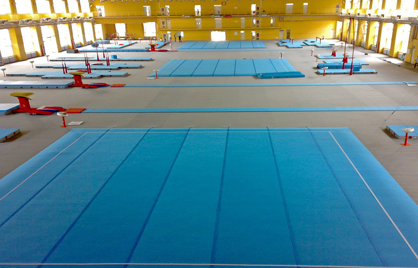 Indoor-design-of-gymnasium-of-Capital-Institute-of-Physical-Education