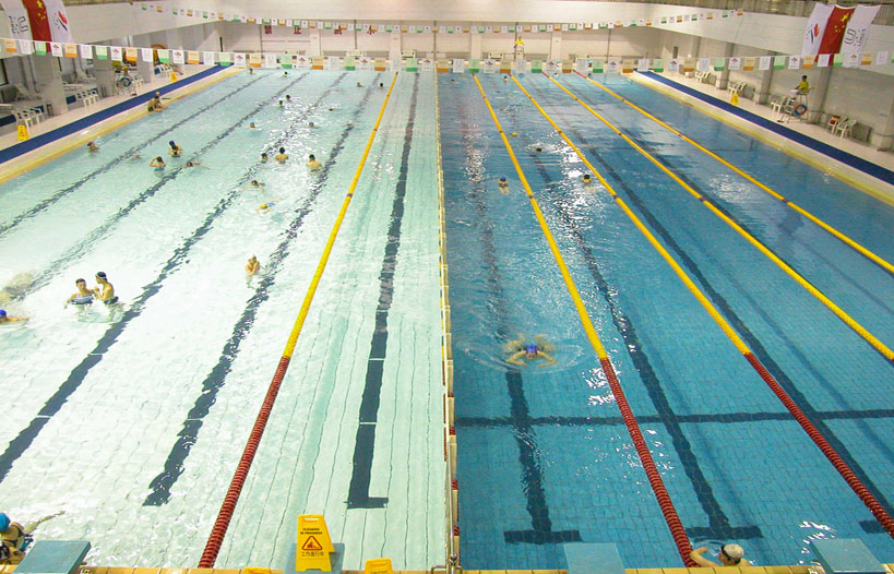 Swimming-pool-of-Capital-Institute-of-Physical-Education