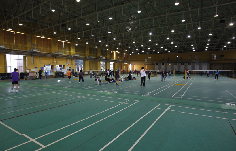 Badminton-court-of-Capital-Institute-of-Physical-Education